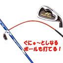 【 58口径 グリップ さらに進化したアイアンタイプ】 ムチのようにしなる柔らかいシャフトでプロスイングを身につける ボールも打てる練習機 広田ゴルフ ロジャーキング スイングドクター ツアー アイアンタイプ 02P05Nov16