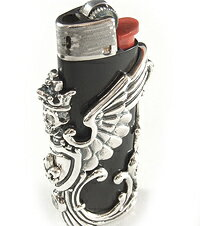 ロイヤルオーダー Royal OrderライターホルダーSML WINGED SKULL LIGHTER HOLDER 【ROYAL ORDER】