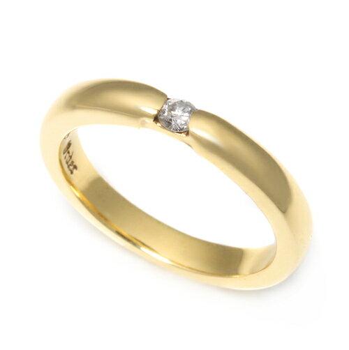 【ロイヤルオーダー リング】HALO RING w/1 DIAMOND 18K YELLOW GOLD size9-10.5 【ROYAL ORDER】 ★ロイヤルオーダー公式ストア★【送料無料】