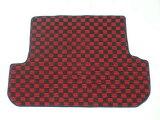 VOLVO ボルボ 940エステート 専用 新品 ラゲッジマット 荷台マット チェック柄 赤黒