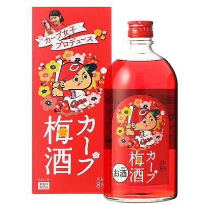 中国醸造 カープ女子プロデュース カープ梅酒 7...の商品画像