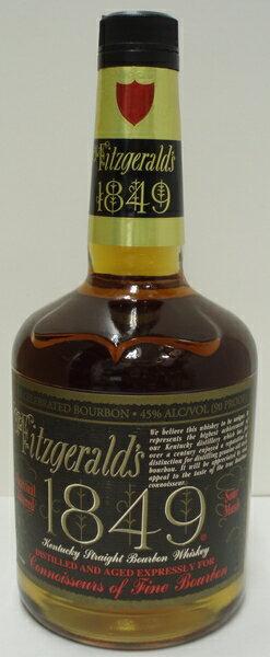 オールドフィッツジェラルド1849 45% 750ml Old Fitzgeralds