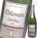 朝日町ワイン スパークリング デラウェア 750ml 白ワイン 辛口