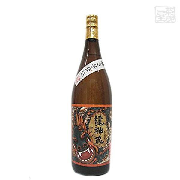 龍神蔵黒麹芋25度1800ml白金酒造焼酎
