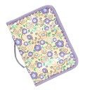 It is maternity record book cover floret pattern gold X purple sale SALE fs2gm for two ANNA SUI anna sui ANNA SUI mini anna sui mini-maternity record book case brands
