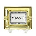 ヴェルサーチェ VERSACE 灰皿 アッシュトレイ MEDUSA RHAPSODY メドゥーサ ラプソディ 14269 403670 27236 ASHTRAY ホワイト+ゴールド+ブラック系
