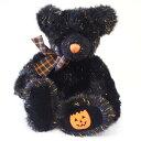 ラス RUSS ぬいぐるみ 100651 テディベア Lサイズ ハロウィン ブラック 人形 キッズ 子ども プレゼント ギフト パンプキン くま 誕生日 10月31日