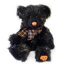 ラス RUSS ぬいぐるみ 100652 テディベア Sサイズ ハロウィン ブラック 人形 キッズ 子ども プレゼント ギフト パンプキン くま 誕生日 10月31日