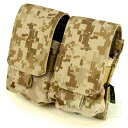 FLYYE MOLLE Double M14 Mag Pouch AOR1