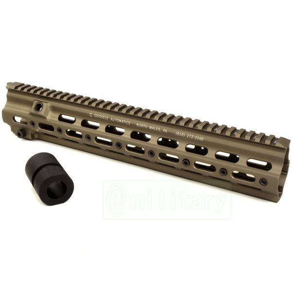 HK416用 GEISSELE タイプ SMR 14.5インチ ハンドガード CB[マルイ用バレルナット付属]