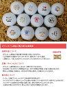 【父の日スペシャルゴルフボール】ゴルゴル特選 父の日デザインボール1ダース(12球)3000円(税別) ダンロップ スリクソンディスタンス/DUNLOP SRIXON DISTANCE スピード納品 記念品 父の日 プレゼント ギフト