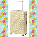 【ポイント10倍】 送料無料 エース ハント キャリーケース スーツケース かわいい柄 / HanT 05747