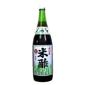 迫醸造 出光(デコー) さつま米酢(醸造酢) 1800ml