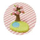 お花見ハッピーノーティー 桜&池 /ガーデンマスコット ナチュラル雑貨 Natural雑貨 Garden