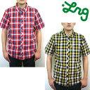 セール50%オフ LRG エルアールジー LIGHT CHECK S/S SHIRT 半袖 チェックシャツ