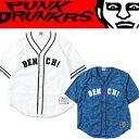 PUNK DRUNKERS パンクドランカーズ 補欠BBシャツ