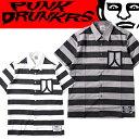 (先行予約)PUNK DRUNKERS パンクドランカーズ 囚人シャツ【17春夏】3月末入荷予定