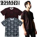 セール ZEPHYREN ゼファレン VNECK TEE BONEYARD Tシャツ