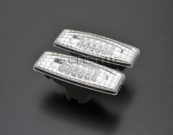 エルグランド (E51) LEDクリスタルサイドマーカーウインカー