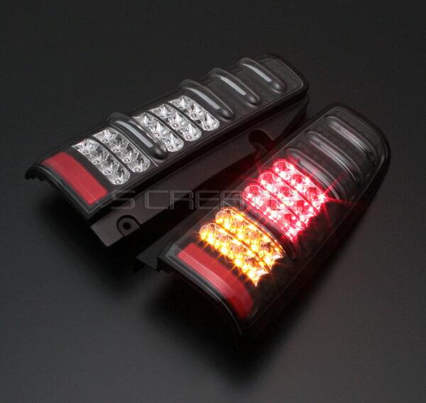 【数量限定特価】【送料無料】ウインカーLED【MBRO】ジムニー(JB23) LEDサンダーテール/ブラック