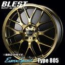 BLEST(е╓еье╣е╚) ецб╝еэе╣е▌б╝е─ е┐еде╫ 805 евеые▀е█едб╝еы(1╦▄) 17x7.0 +52 100 4╖ъ(е╓еэеєе║епеъев) / EuroSport Type 805 17едеєе┴