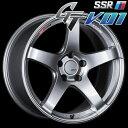 SSR GTV-01 アルミホイール(1本) 18x10.5 +15 114.3 5穴(グレアシルバー) / GT ジーティー 1ピース 1PIECE 1P GTV01 18インチ