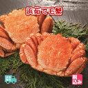 【送料無料】北海道産(太平洋) 浜茹 毛蟹 2ハイ(約800...
