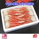 ずわい蟹足(ボイル冷凍ギフト用) 4L 2.0kg 【送料無料】...
