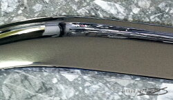 ハイエース200系クロームドアバイザーABS製