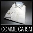 コムサイズム /長袖ドレスシャツ シャドーストライプ ホワイト/ 白/【XS】【S】【M】【L】【XL】 COMME CA ISM sssaaa