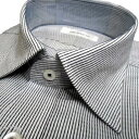 【THE SHOP TK 】タケオキクチ/長袖ドレスシャツ ストライプ 白×黒 形態安定【M】【L】【XL】ザ ショップ ティーケー sssaaaA1