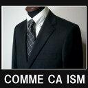 ●【送料無料】/【あす楽対応!】【最高品質!】【M】コムサイズム COMME CA ISM/最高品品質のビクトリアメリノウール 100%シングルスーツ/チャコールグレー