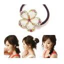 ポッキリ1000円 髪飾り 花 桜 さくら ホワイト フラワ