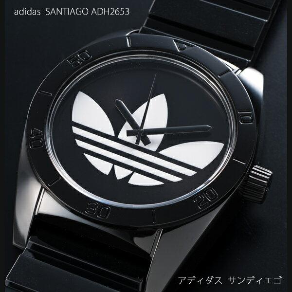 【送料無料】アディダス adidas サンティアゴ Santiago ブラック×ホワイト …...:auc-select-eye:10000215