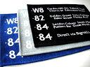 RoomClip商品情報 - ★バスステーションフロアマット70×50cm ブラック/グレー/ブルー バスロールサインマットミッドセンチュリーモダン【RCP】