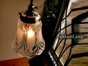 玄関個室キッチンカウンターに♪アンティーク調ガラスペンダントランプ013 真鍮色GC プチシャンデリア E17LED電球変更可雑貨