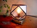 楽天selectstoreステンドグラステーブルランプクリア 143 フロアランプ卓上照明 カフェ風ランプレトロモダン間接照明アンティーク風