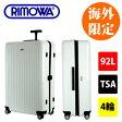 海外限定色 TSAロック搭載 RIMOWA 【リモワ】 SALSA AIR【サルサエアー】 ホワイト/白 92L 4輪 スーツケース