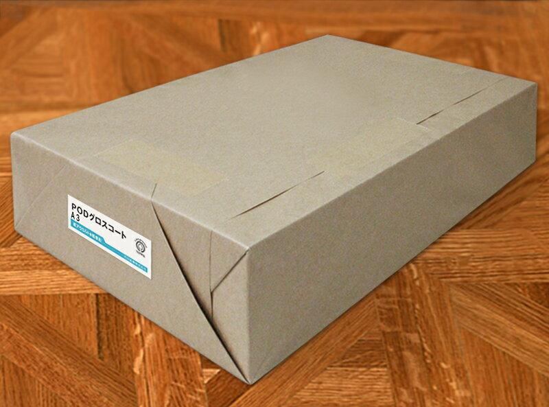 レーザープリンター対応コート紙PODグロスコート<100g>A3 1000枚【当日発送可】【サイズ変更可】