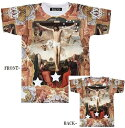 Tシャツ メンズ イエス/キリスト/十字架 中世絵画 YES KIRISTE 半袖 フルカラーインクジェット
