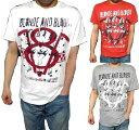 リプレイ Tシャツ メンズ REPLAY アウトレット BLONDE AND BLOODY 半袖