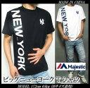 ヤンキース Tシャツ メンズ ビッグニューヨーク マジェステ...