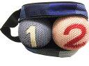 ゲートボール ニチヨー まんまりも 特別色 バック入りボール 2個セット 練習用に最適! ゲートボール用品