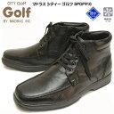 ショッピングビジネスシューズ マドラス MADRES シティー ゴルフ SPGF910 メンズ ウインターブーツ ビジネスシューズ 天然皮革 革靴 通勤 靴幅4E 撥水加工 雪道対応 ブラック