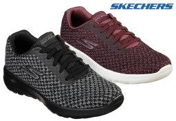 <strong>スケッチャーズ</strong> 15617 SKECHERS GO WALK JOY PIVOTAL スニーカー レディース 婦人 BBK ブラック BURG バーガンディー 靴