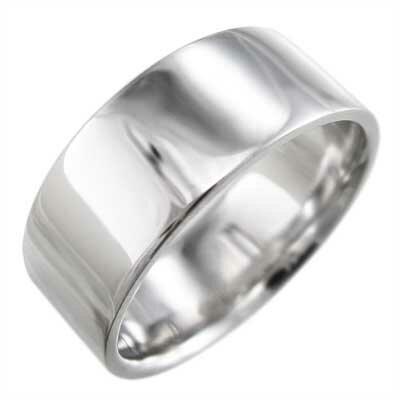 平打ちの指輪 メンズ レディース Pt900 約...の商品画像