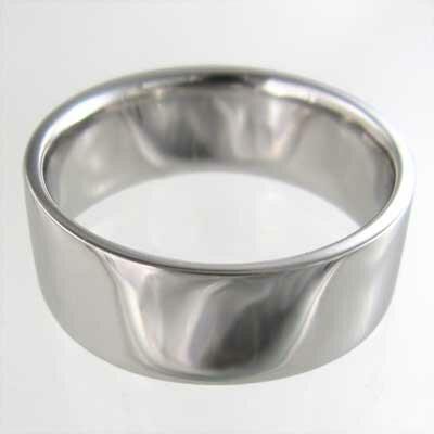 平打ちの指輪 メンズ レディース Pt900 ...の紹介画像3