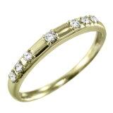 【】【楽ギフ包装】天然ダイヤモンド 指輪 婚約ブライダルにも 18金ゴールド 4月誕生石 (ホワイトゴールド イエローゴールド ピンクゴールド)