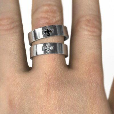 【送料無料】【_包装】天然ダイヤモンド ペアリング ブライダルリング クロス ファイブストーン k10ゴールド 4月誕生石 (ホワイトゴールド イエローゴールド ピンクゴールド) ペアリング ブライダルリング 4月誕生石 天然ダイヤモンド クロス