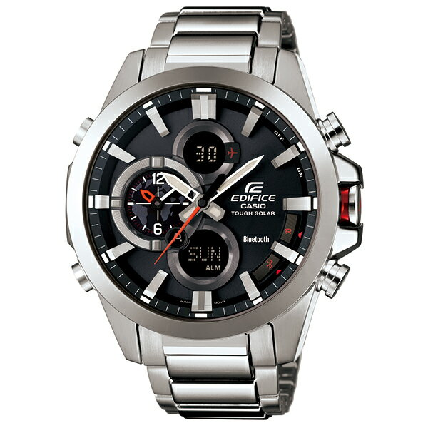 カシオ エディフィス ECB-500D-1AJF 腕時計 モバイルリンク連携機能付 タフソーラー メンズ 【長期保証5年付】 【長期保証】【20%OFF】 CASIO EDIFICE 腕時計 国内正規品 【送料無料】